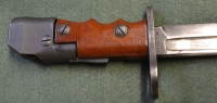 British No7 Mk1/L Swivel Pommel Bayonet StkNoB06
