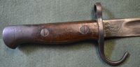 Pre WW1 Dated 1908 1st Pattern Hook Quillon 1907 Bayonet StkNoB10